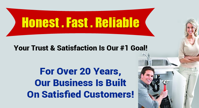 Honest Fast Reliable San Clemente Plumbers