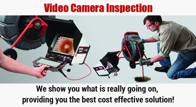 Video Camera Inspection San Clemente Plumbing Service